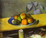 paul cezanne apples peaches pears and grapes paintings