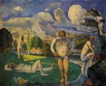 paul cezanne bathers at rest paintings