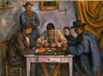paul cezanne card players posters