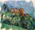 paul cezanne chateau noir iii painting