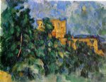 paul cezanne chateau noir painting