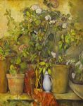 paul cezanne flower pots painting 78959