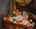 paul cezanne fruit bowl pitcher and fruit painting 27717