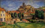 famous original paintings - gardanne by paul cezanne