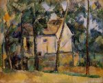 paul cezanne house and trees painting 27731