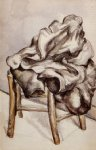 paul cezanne jacket on a chair art