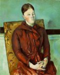 paul cezanne madame cezanne in a yellow chair iii paintings