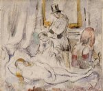 paul cezanne olympia paintings