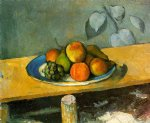 paul cezanne peaches pears and grapes paintings