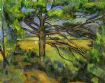 paul cezanne pine tree near aix painting 81622