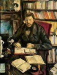 paul cezanne original paintings - portrait of gustave geffroy by paul cezanne