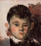 paul cezanne portrait of the artist s son unfinished painting
