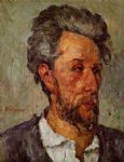 paul cezanne portrait of victor chocquet ii painting-28108