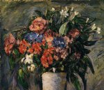 paul cezanne pot of flowers print