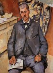 paul cezanne seated man painting
