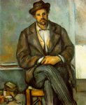 paul cezanne seated peasant ii painting