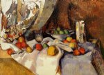 paul cezanne still life with apples ii painting 27930