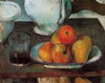 paul cezanne still life with apples iii painting 27931