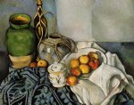 paul cezanne still life with apples painting 27932