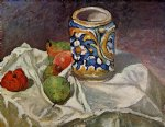 paul cezanne still life with italian earthenware painting 27941