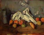 paul cezanne still life with milk can and apples painting 27943