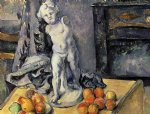 paul cezanne still life with plaster cupid ii painting 27944