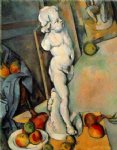 paul cezanne still life with plaster cupid painting 27945