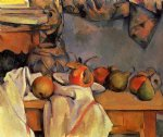 paul cezanne still life with pomegranate and pears painting 27946