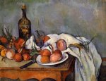 paul cezanne still life with red onions painting 27947