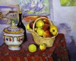 paul cezanne still life with soup tureen painting 82852