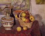 paul cezanne still life with soup tureen painting 27950