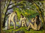 the bathers by paul cezanne posters