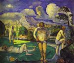 the bathers resting by paul cezanne posters