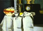 the black clock by paul cezanne posters