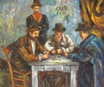paul cezanne the card players ii posters