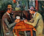 paul cezanne the card players iii posters