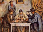 paul cezanne the card players posters