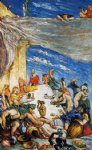paul cezanne the feast painting
