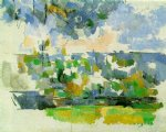 the garden at les lauves by paul cezanne painting