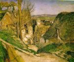 the hanged man s house by paul cezanne posters