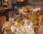 paul cezanne the kitchen table painting