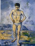 the large bather iv by paul cezanne painting