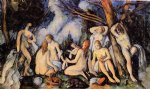 paul cezanne the large bathers ii painting