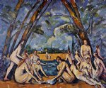 paul cezanne the large bathers painting