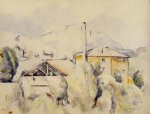 paul cezanne the lime kiln painting