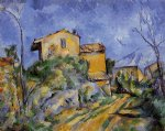 paul cezanne the maison maria painting