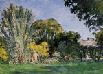 paul cezanne the trees of jas de bouffan painting 28051