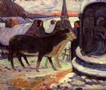 paul gauguin christmas night painting
