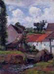 paul gauguin farm in osny paintings