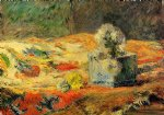 pet art - flowers and carpet ii by paul gauguin